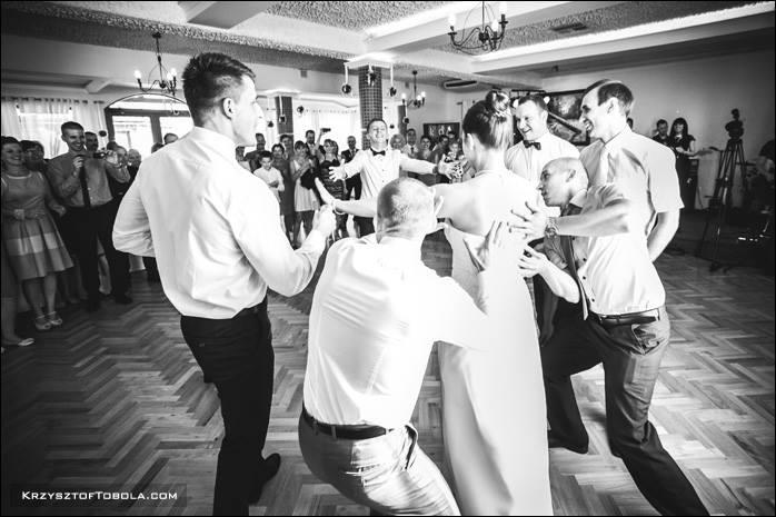 Choreografia pierwszego tańca Madzi i Konrada - salsa