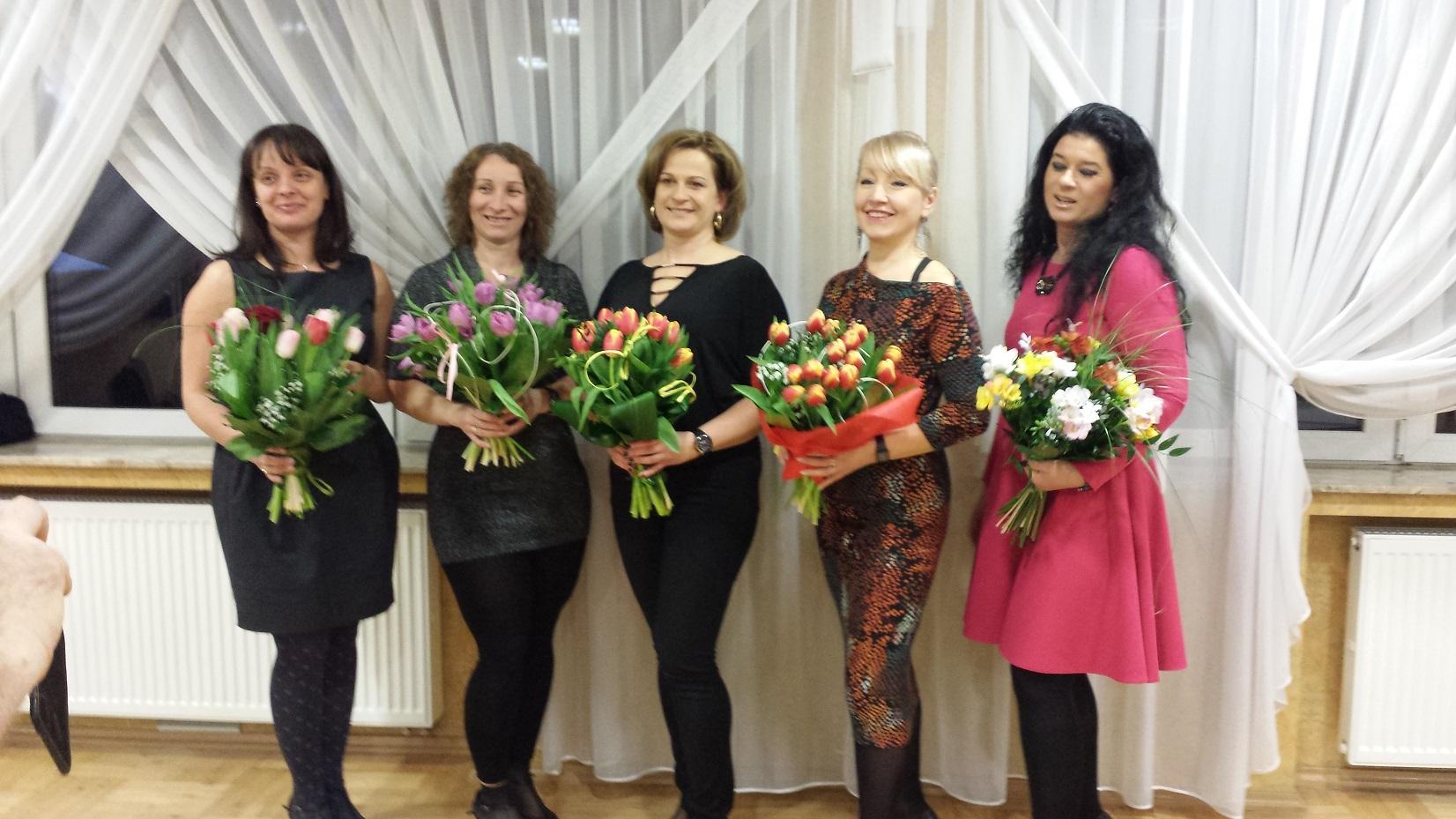 Dzień Kobiet Klub Tańca Hobby Brzesko