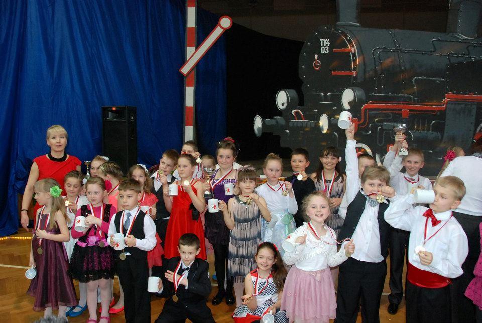 VI Turniej Tańca Towarzyskiego dla dzieci 2013 grupa Brzesko