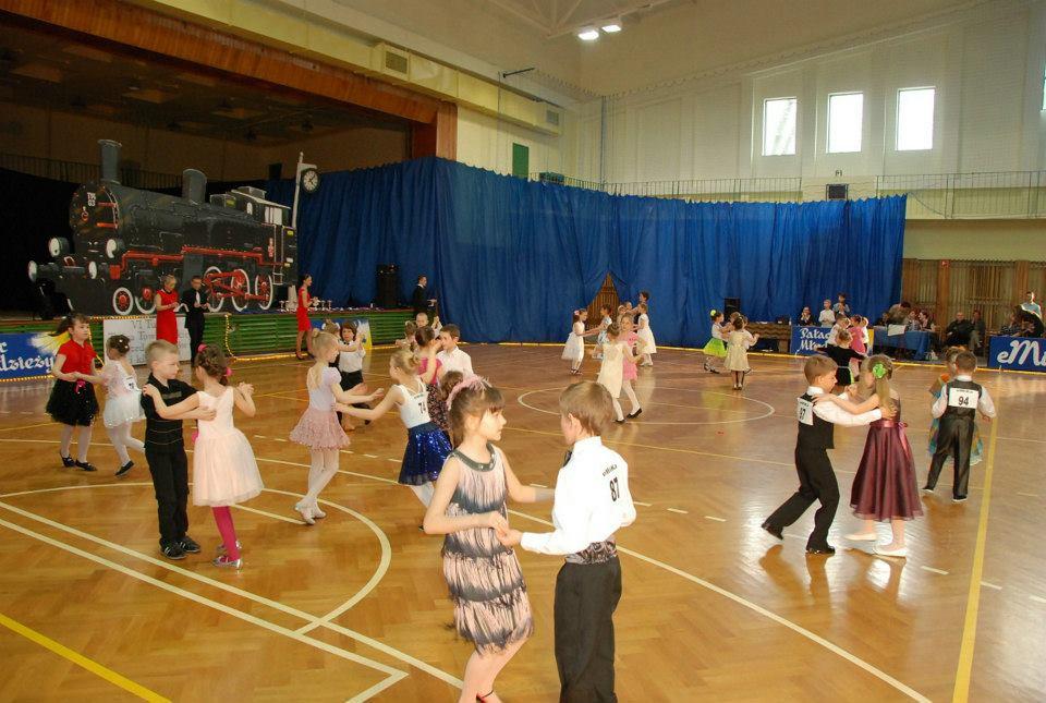 VI Turniej Tańca  Towarzyskiego dla dzieci 2013