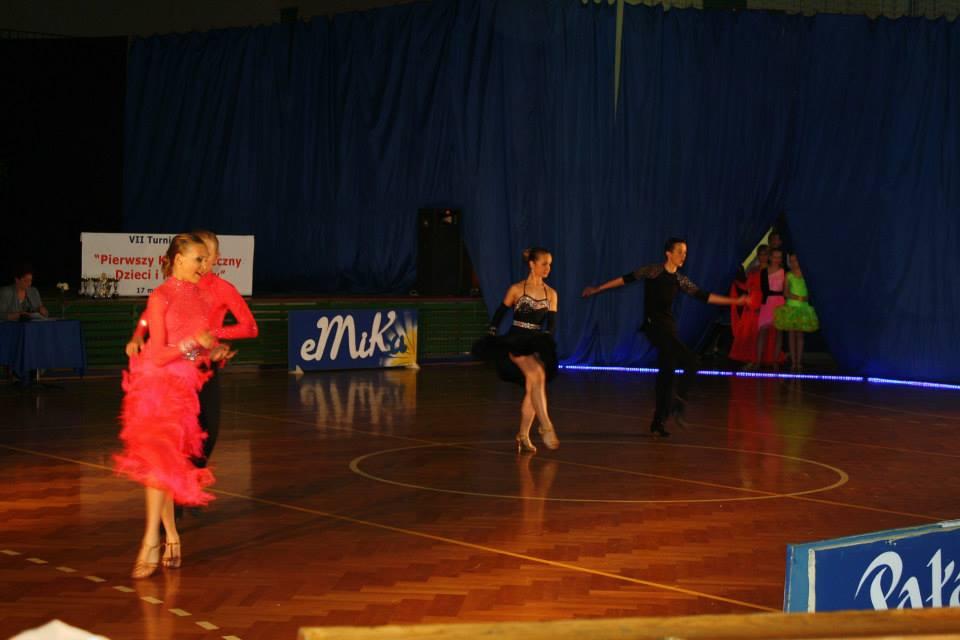 VII  Turniej Tańca Towarzyskiego Dzieci i Młodzieży Tarnów 2014