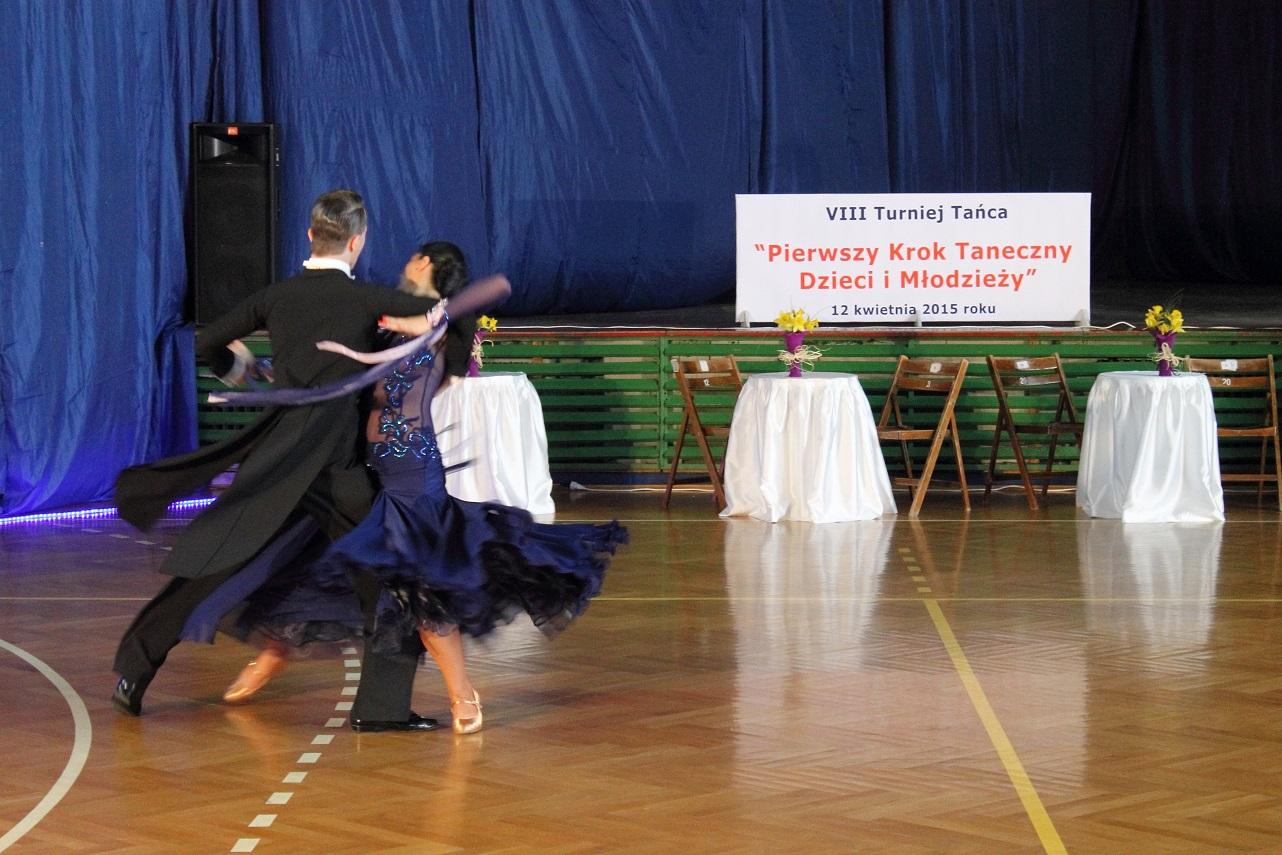 VIII Turniej Tańca -prezentacje tancerzy