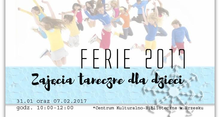 Ferie 2017 – darmowe lekcje tańca!