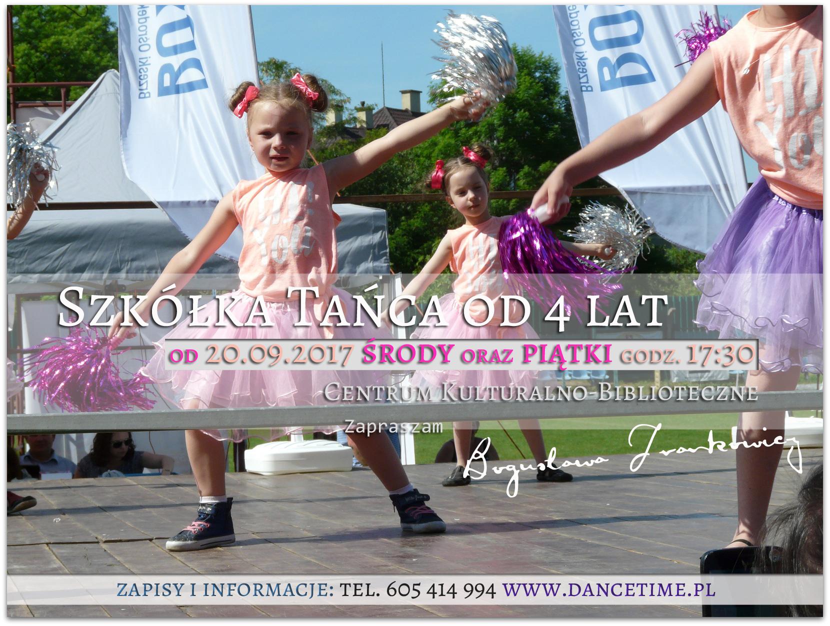 Szkółka Tańca Brzesko nowy sezon dancetime.pl