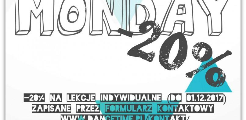 Cyber Poniedziałek -20%!!