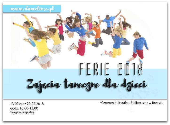 ferie 2018 taniec brzesko