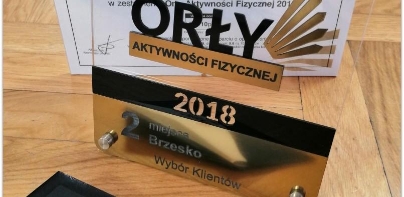Orły Aktywności Fizycznej – II miejsce w Brzesku!