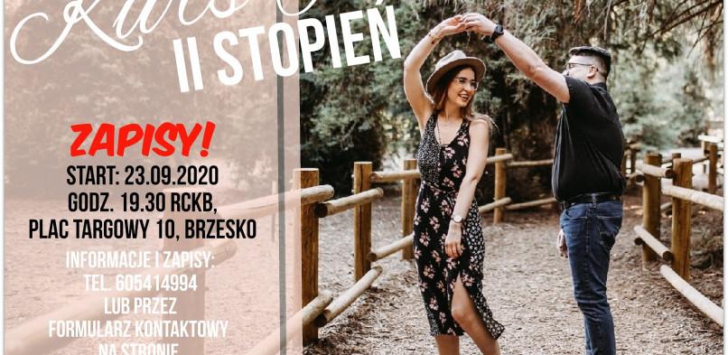 II Stopień Kursu Tańca – Zapisy!
